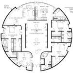 Floor Plan Monolithic Dome Institute