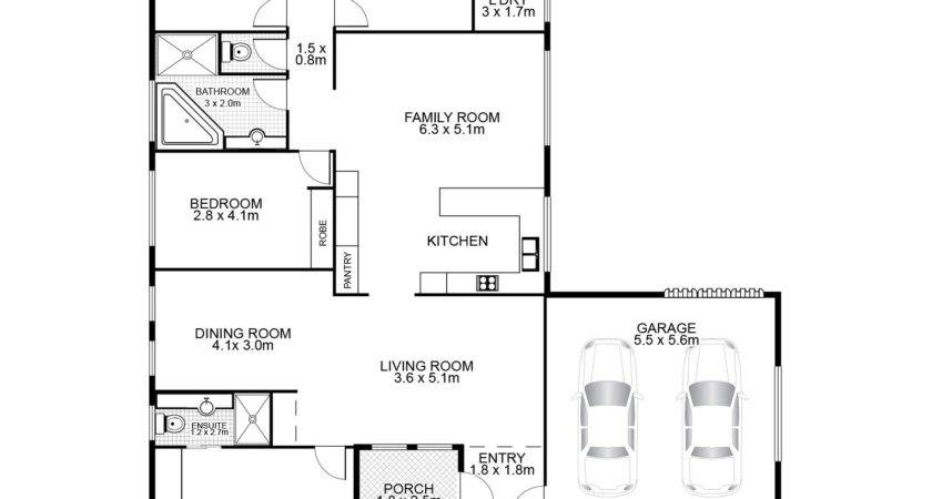 Floor Plans Drawing Layout Ideas Home Design Gombrel