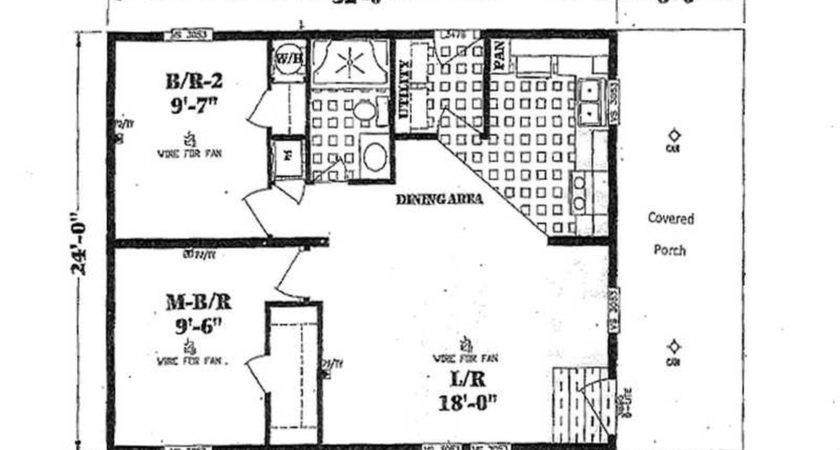 Floor Plans One Bedroom Small Two Homes