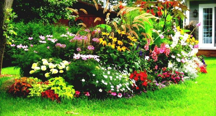 Flower Bed Design Ideas Home Decorating Tips