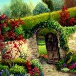 Flower Garden House Home Ideas Also Great