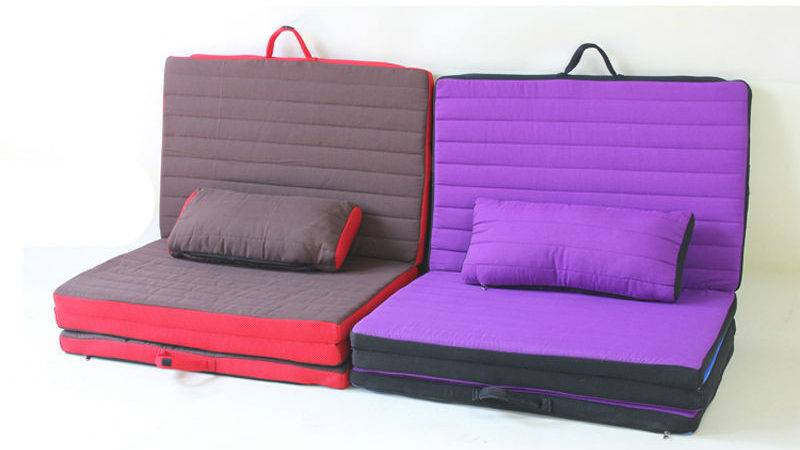 Folding Floor Cushion Bed Ourcozycatcottage