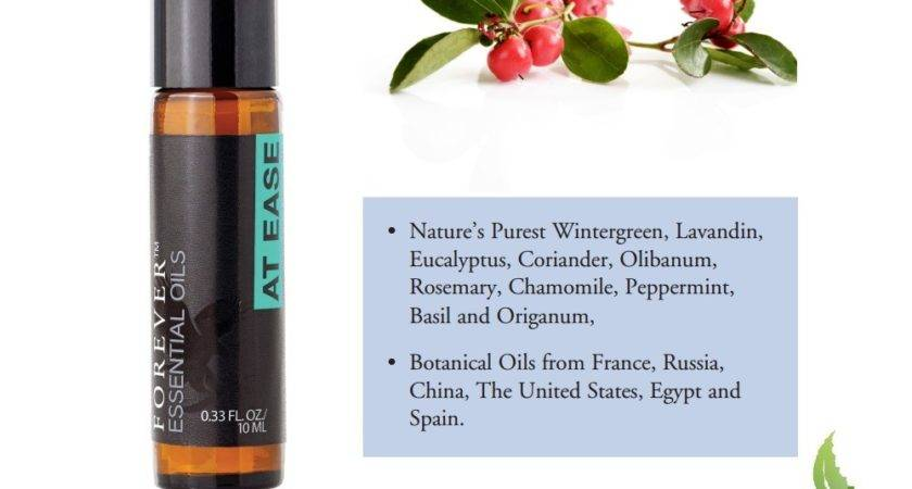 Forever Essential Oils Ease Heart Aloe