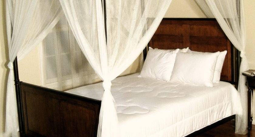 Four Poster Bed Curtains Home Design Ideas