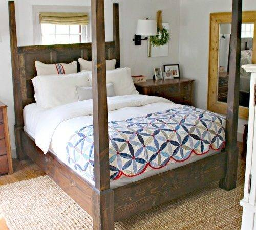Four Poster Bed Plans Canopy