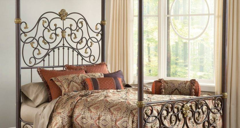 Four Poster Canopy Bed King Viendoraglass