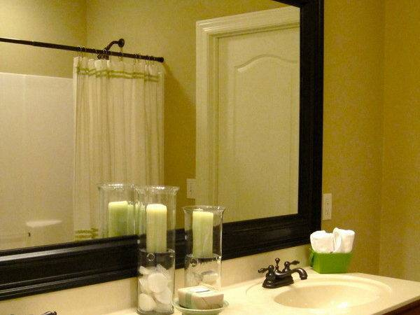 Framed Bathroom Mirrors Ideas Home Interior Design