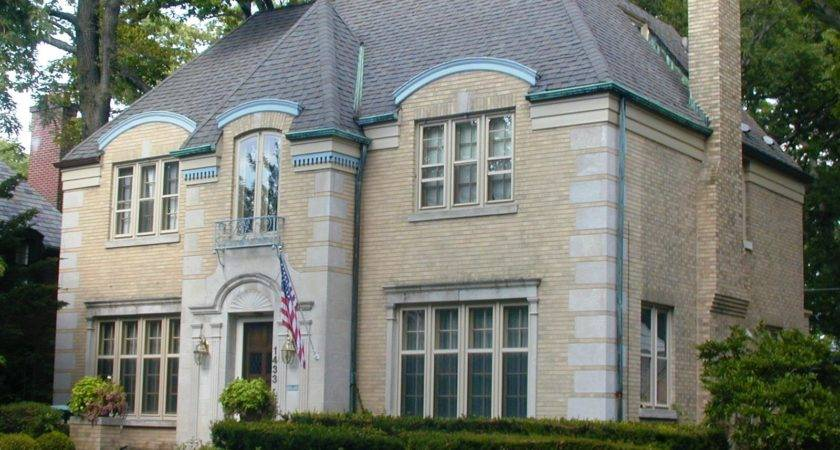 French Eclectic House Plans