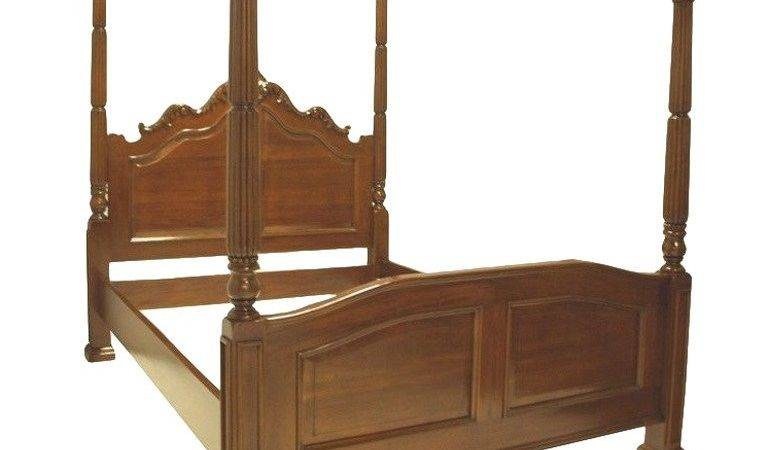 French Louis Style Four Poster Queen Bed Stdibs