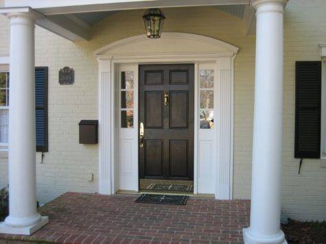 Front Door Facade Home Design