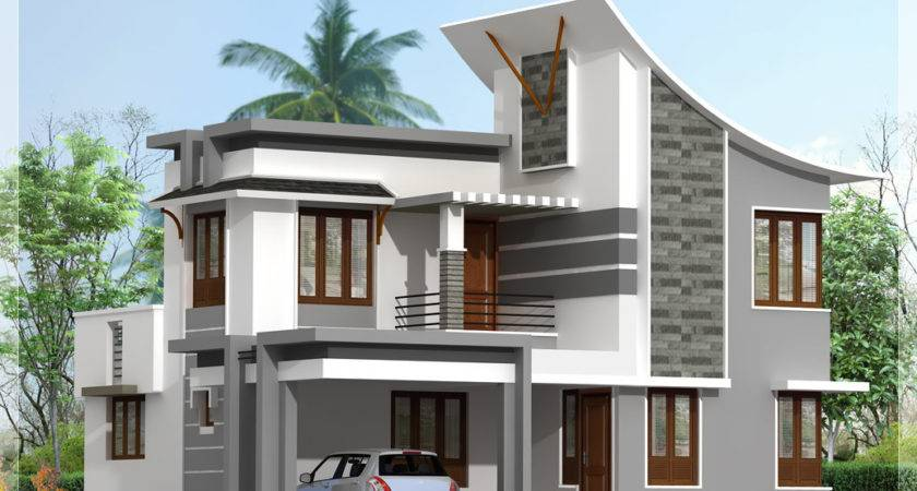 Front Elevation Modern House Home Design Simple Also