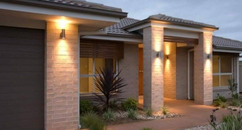 Front Gate Outdoor Lighting Ideas