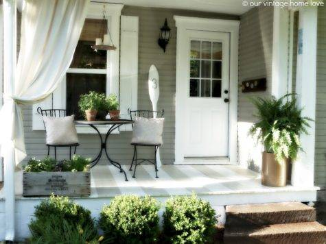 Front Porch Decorating Ideas Dream House Experience