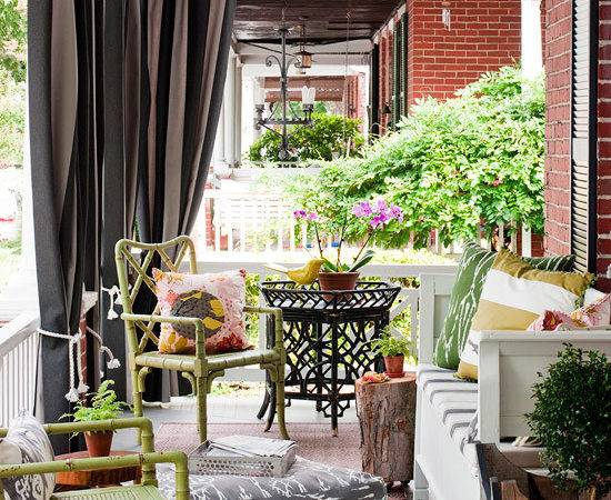 Front Porch Makeovers Summer Bhg
