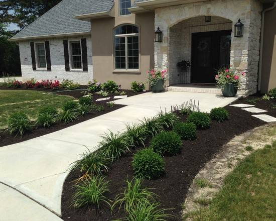 Front Yard Curb Appeal Home Design Ideas