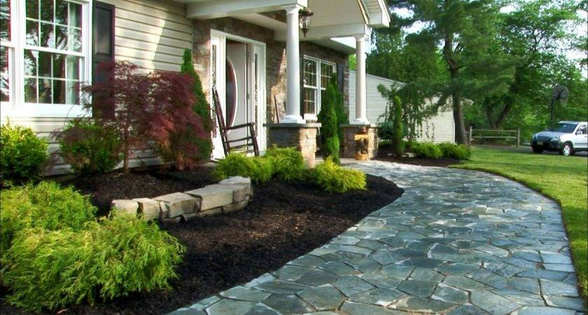Front Yard Easy Landscaping Ideas Cool Landscape Makeover
