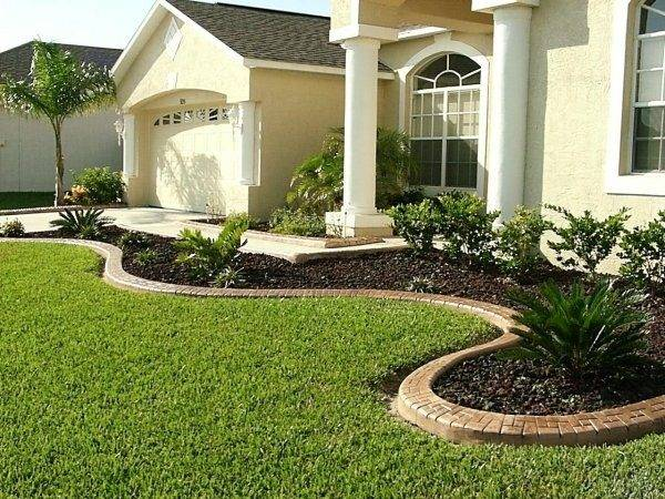 Front Yard Landscape Ideas Ranch House Design