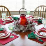 Fun Christmas Table Decorations Pinterest