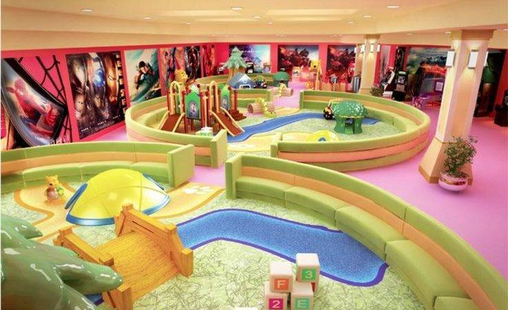 Fun Play Area Kids Contemporary Indoor