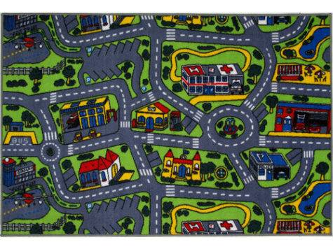 Fun Rugs Children Time Collection Driving