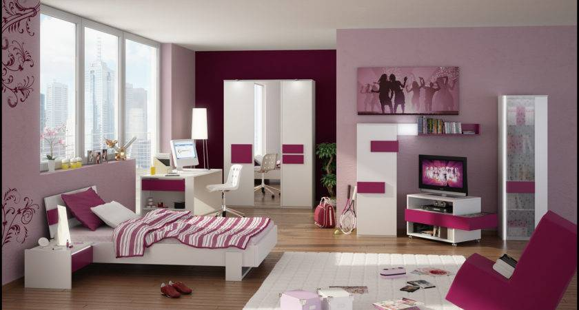 Funky Trendy Very Stylish Teenage Room Designs