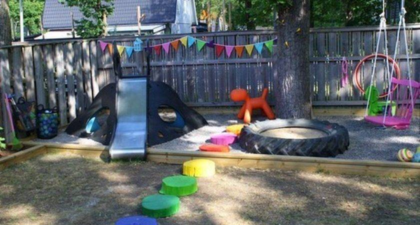 Funny Kids Play Area Design Ideas Backyard Home