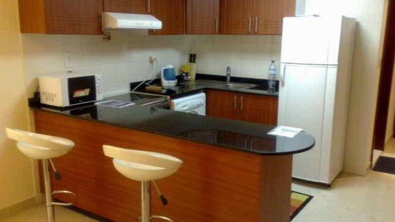 Furnish Studio Apartment Kitchen Home Interior