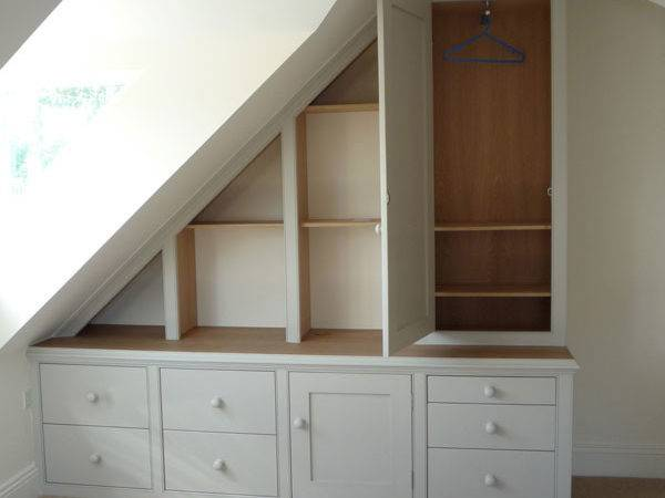 Furniture Attic Under Eaves Cupboards Dunham