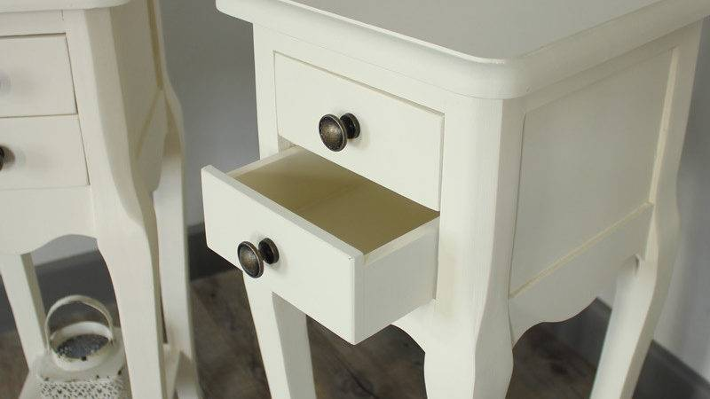 Furniture Bundle Cream Dressing Table Triple Mirror