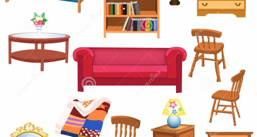Furniture Cartoons Clipart