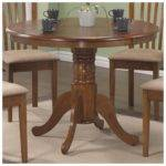 Furniture Fancy Wooden Acacia Hemingway Round Shape