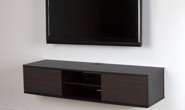 Furniture Floating Wall Media Cabinet Hanging