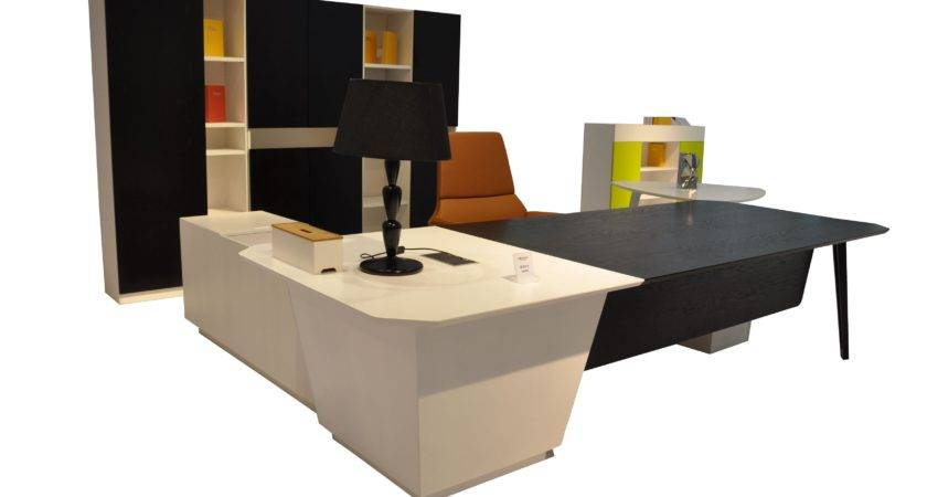 Furniture Luxury Office Desk Design Ideas Modern Home