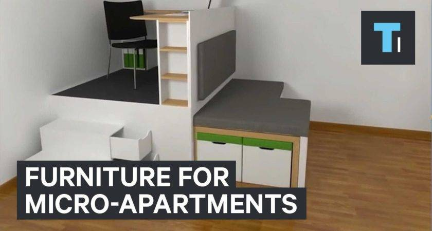 Furniture Micro Apartments Youtube