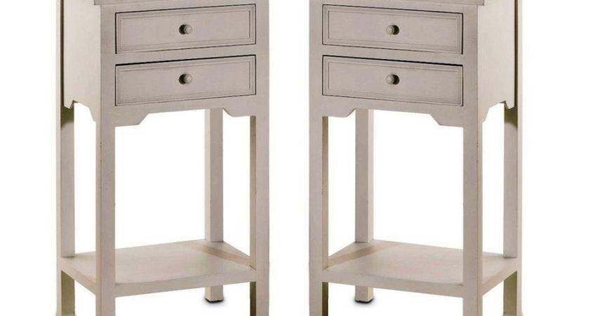 Furniture Minimalist Wooden Cheap Small Bed Side Table