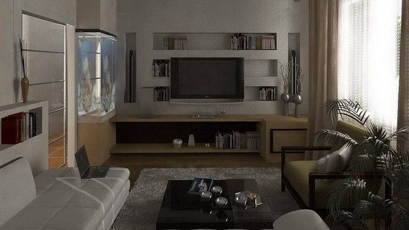 Furniture Modern Luxury Bachelor Apartment Living Room