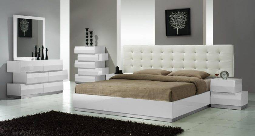 Furniture Platform Bed Contemporary Modern