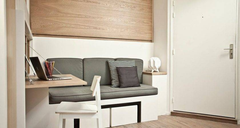 Furniture Small Spaces Bedroom Contemporary