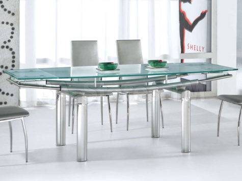 Furniture Sophisticated Clear Dining Table Base Design