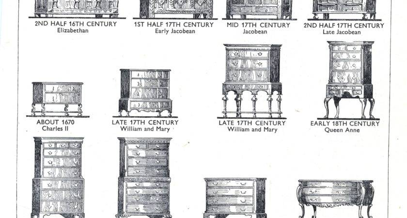 Furniture Styles Gothic Century Lost