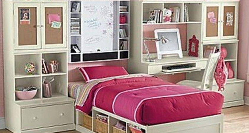 Furniture Teenage Girl Bedrooms Walpaper