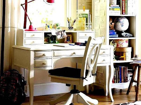 Futuristic Home Office Decorating Ideas