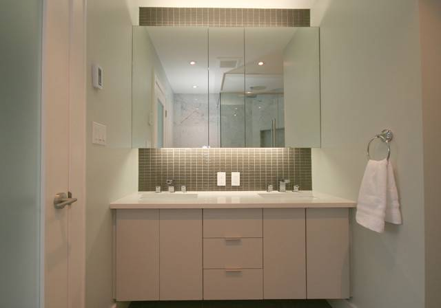 Galley House Contemporary Bathroom Other Metro