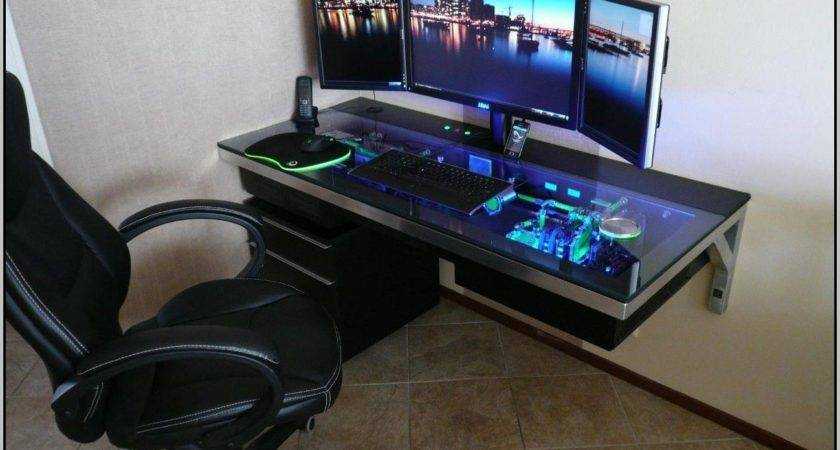 Gaming Desk Ideas Home