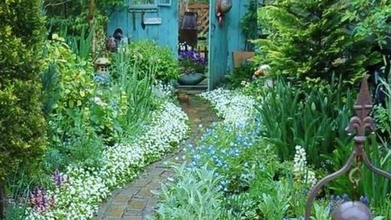 Garden Paths Take Joy Journey