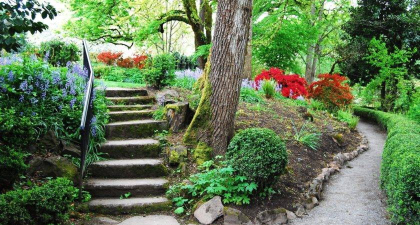 Garden Pathway Design Ideas Some Natural Stones