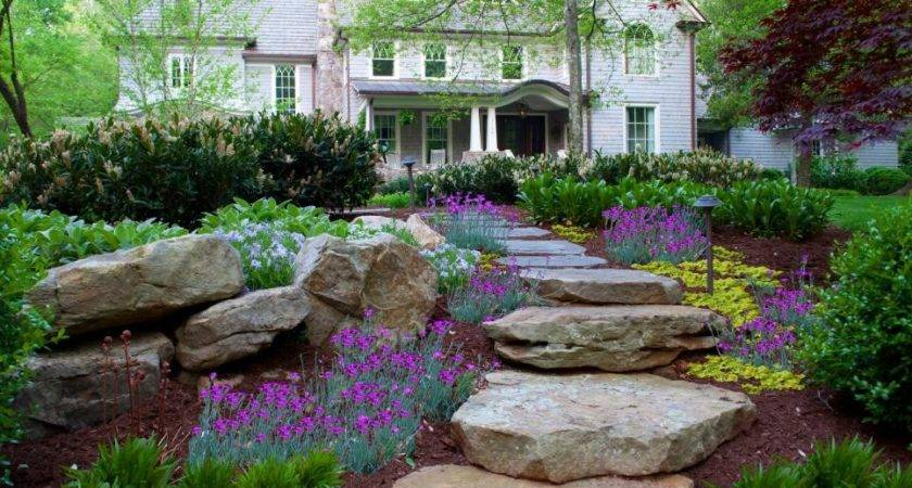 Garden Pathways Walkways Diy