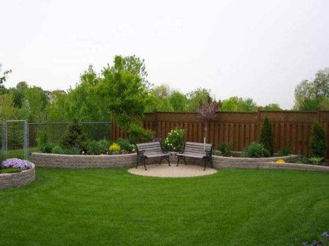 Gardening Landscaping Simple Backyard Design Ideas