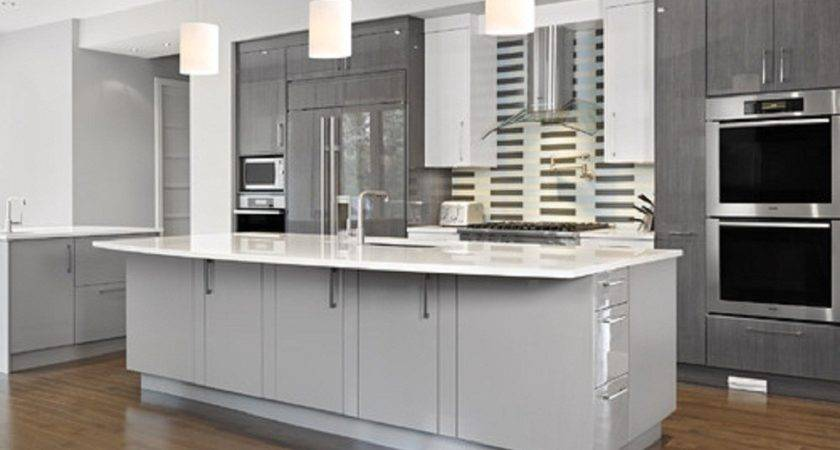 Get Best Cooking Experience Stylish Gray Kitchen
