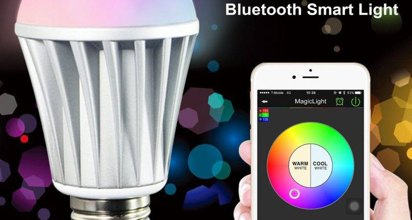 Gift Search Smart Led Light Bulb Smartphone Controlled
